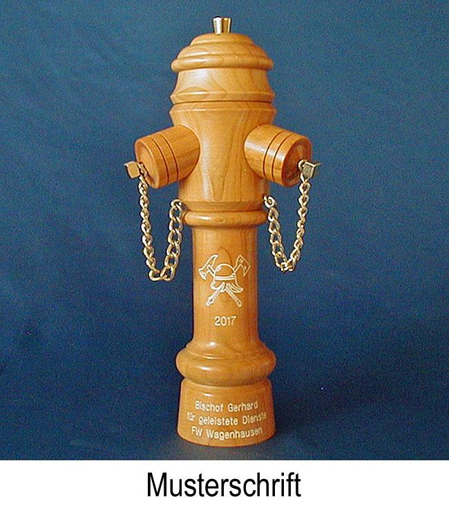 gravierte m hlen 011 pfefferm hle hydrant typ alt gravur feuerwehr. Black Bedroom Furniture Sets. Home Design Ideas